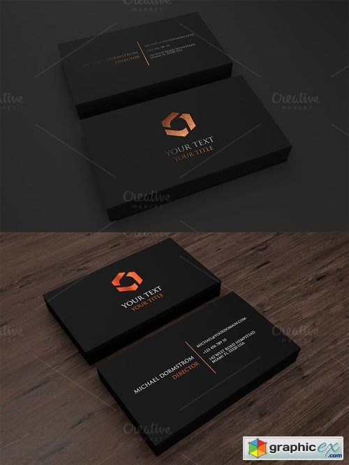 Minimal Business Card 02 486398