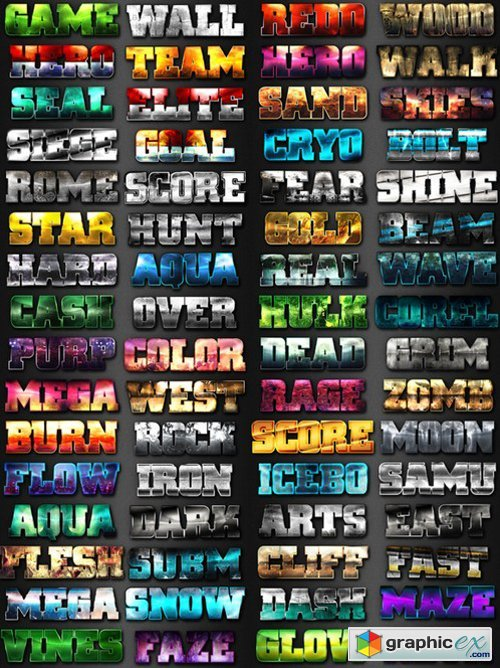 64 Game Layer Styles Bundle