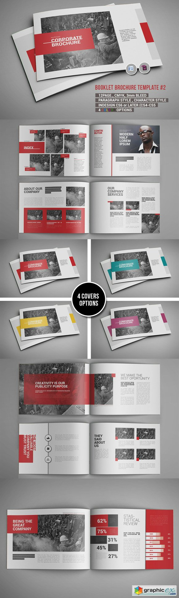 Booklet Brochure Template #2