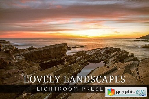 ShutterSweets - Lovely Landscapes Lightroom Presets