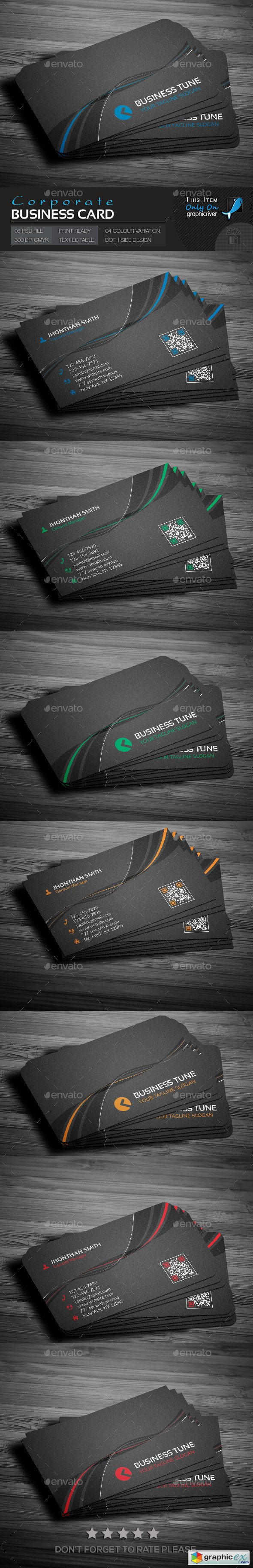 Corporate Business Card 14535679