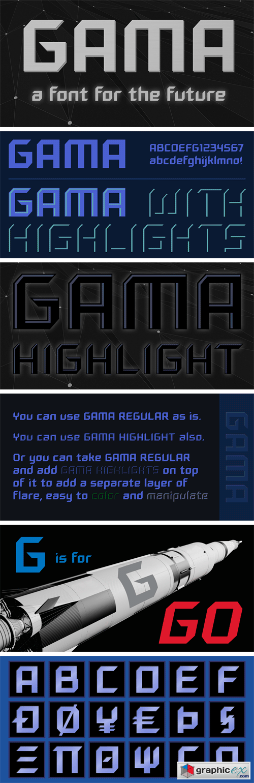 Gama Font Family
