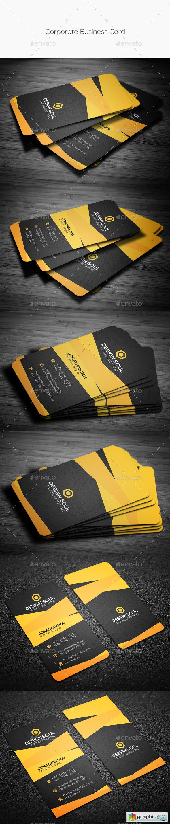 Corporate Business Card 10368018