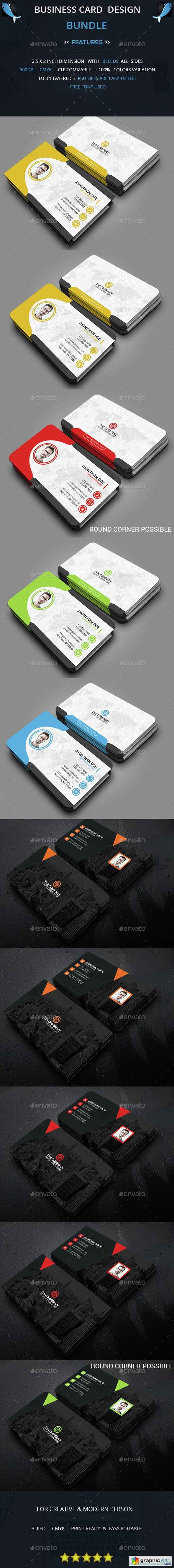 Business Card Bundle 14634213