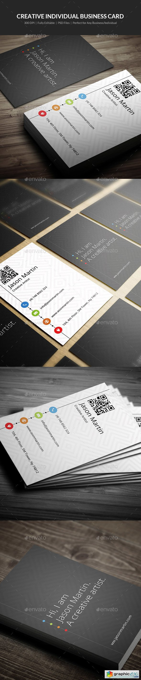 Creative Individual Business Card - 01