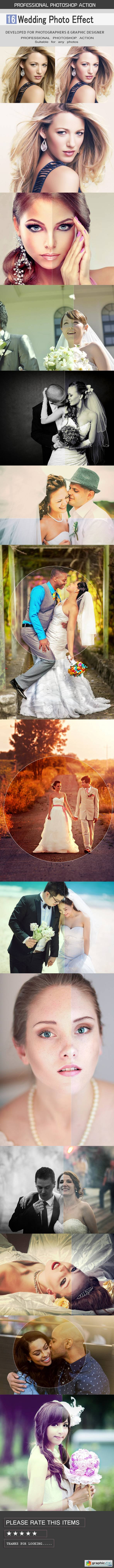 16 Wedding Photo Effect