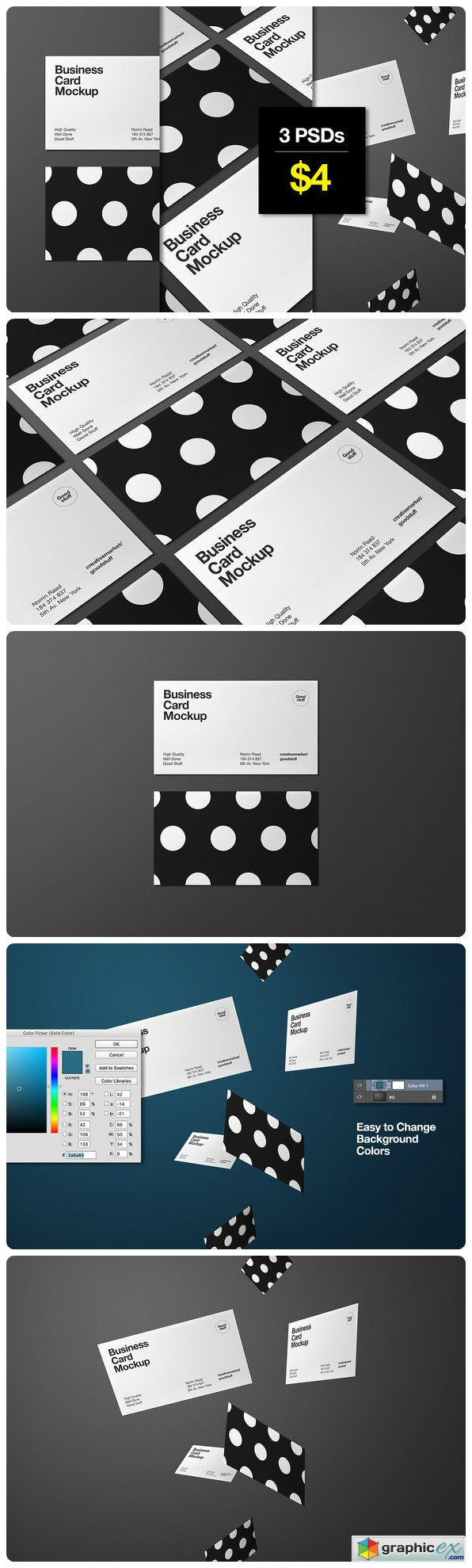 Business Card Mockup 508462