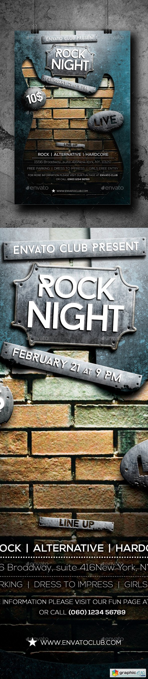 Rock Night Flyer 10398588