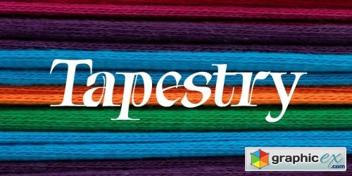 Tapestry Font