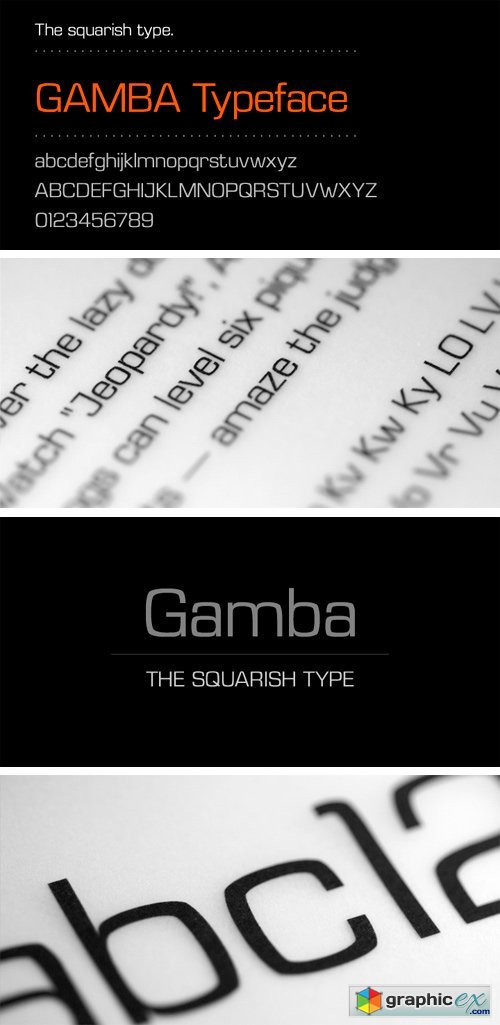 Gamba Font » Free Download Vector Stock Image Photoshop Icon