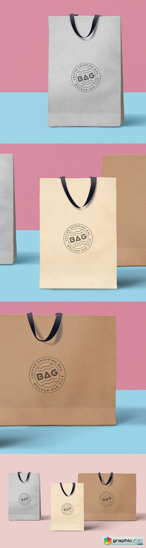 Shopping Bag Mockup, part 2