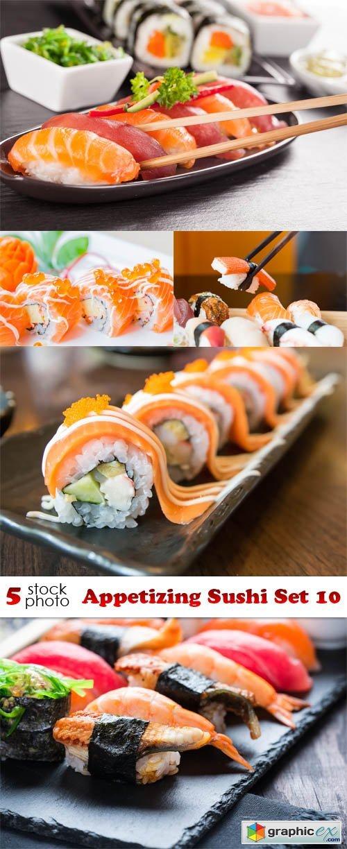 Photos - Appetizing Sushi Set 10