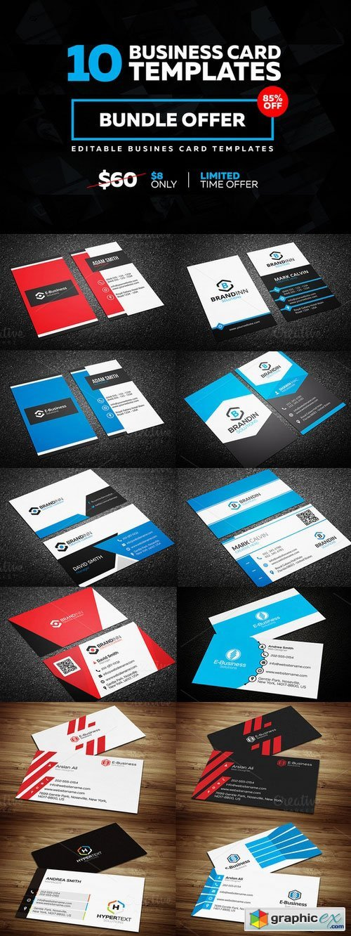 10 Creative Business Card Templates 238323
