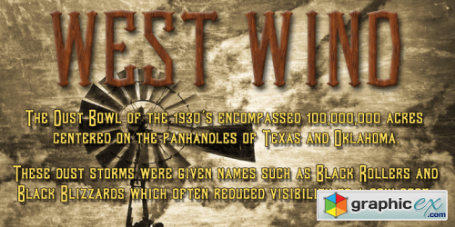 West Wind Font Family