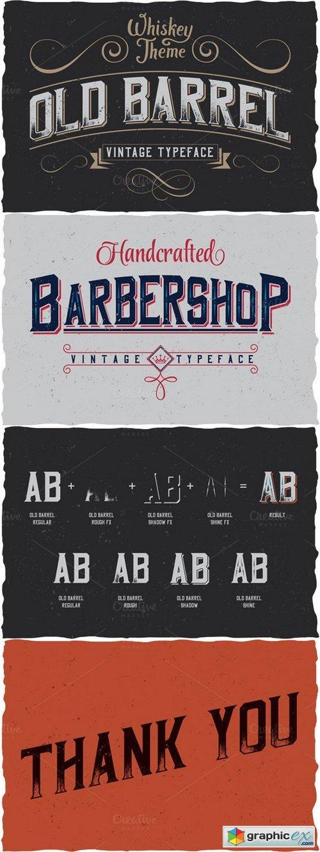 Vintage Typeface 89