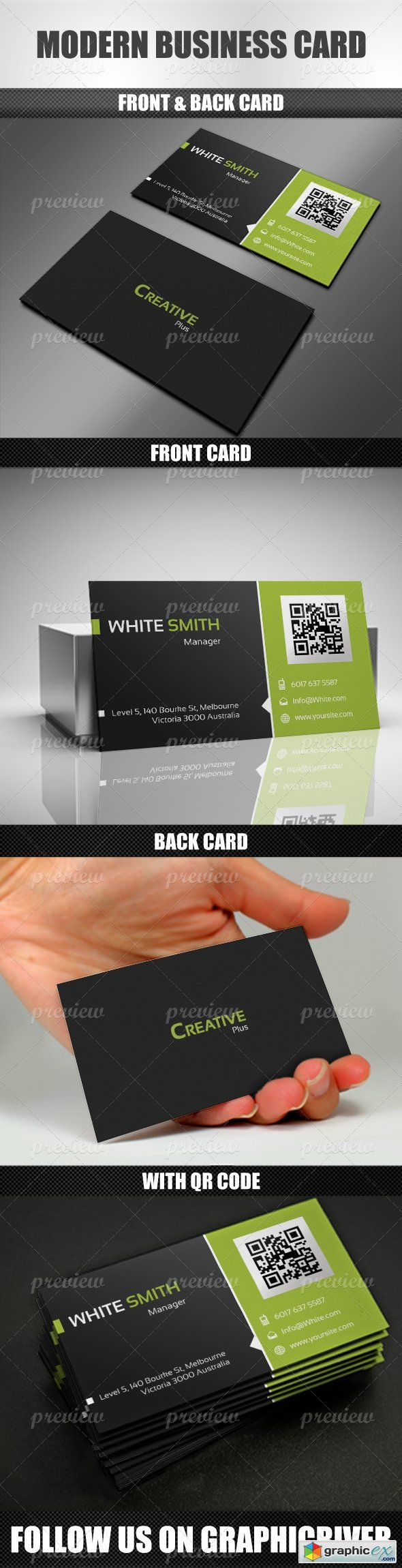 Modern Business Card 1373