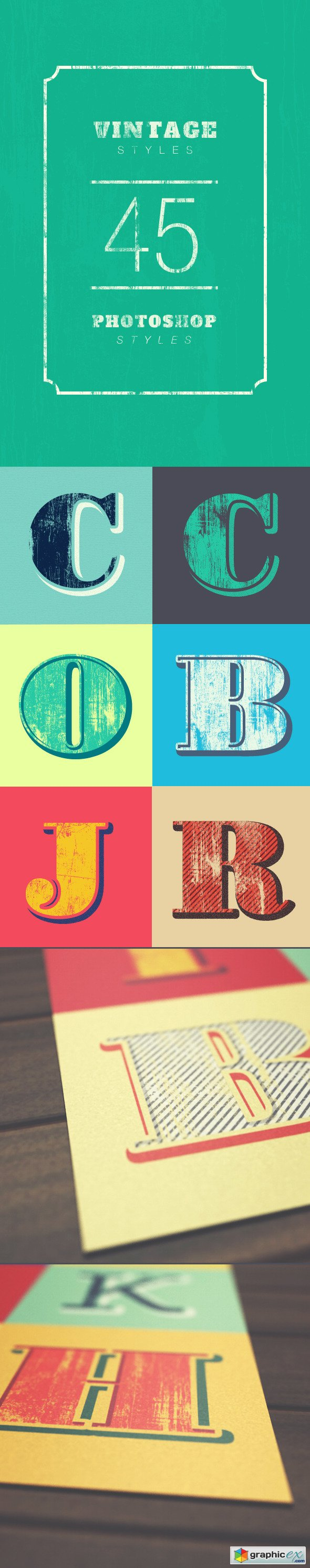 Vintage Styles » Free Download Vector Stock Image Photoshop Icon