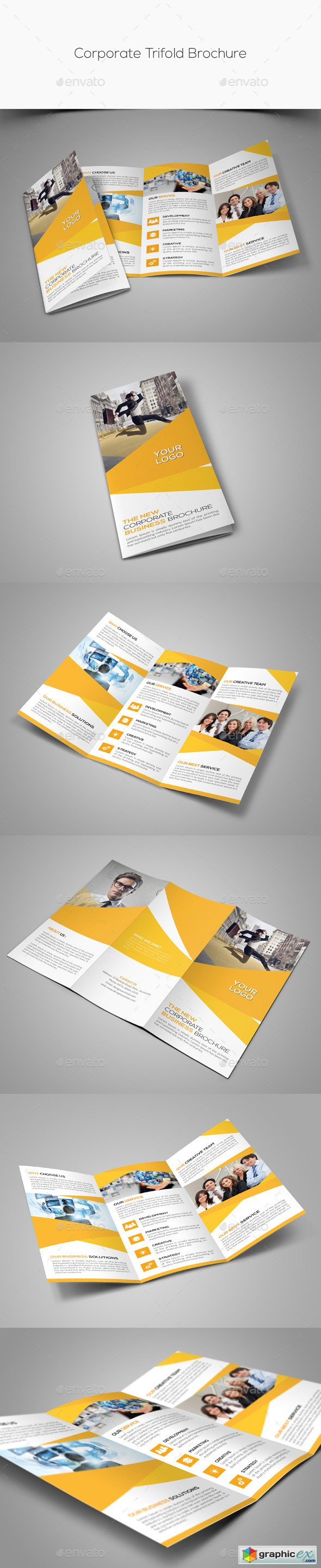 Corporate Trifold Brochure 11183424
