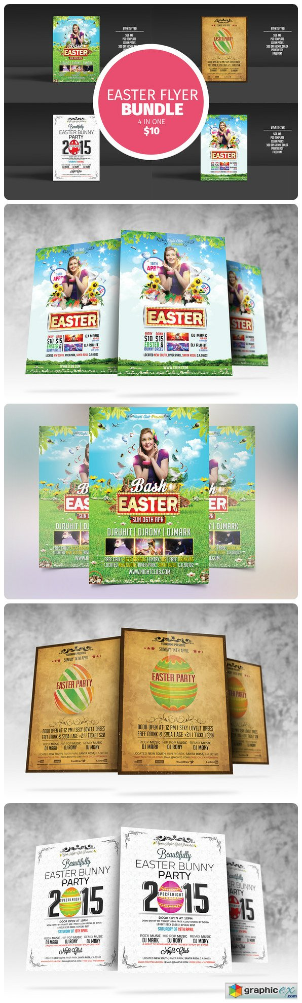 Easter Flyer Bundle