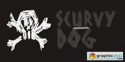 Scurvy Dog Font Family