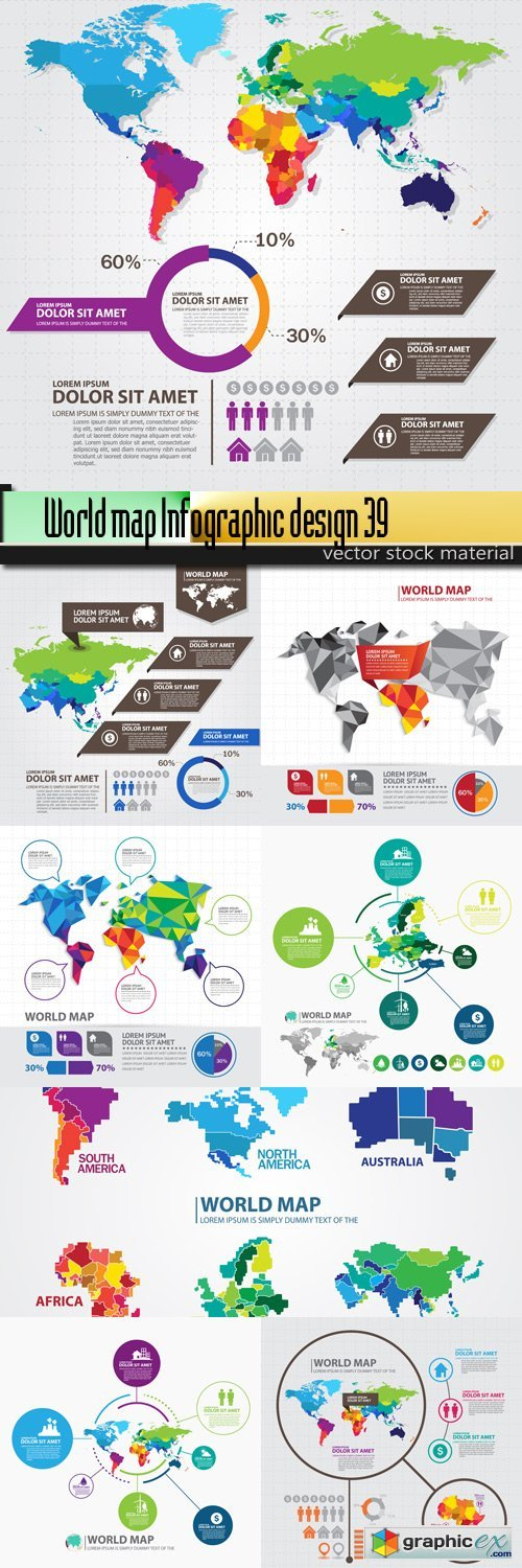 World map infographic design 39 free download vector stock image world map infographic design 39 gumiabroncs