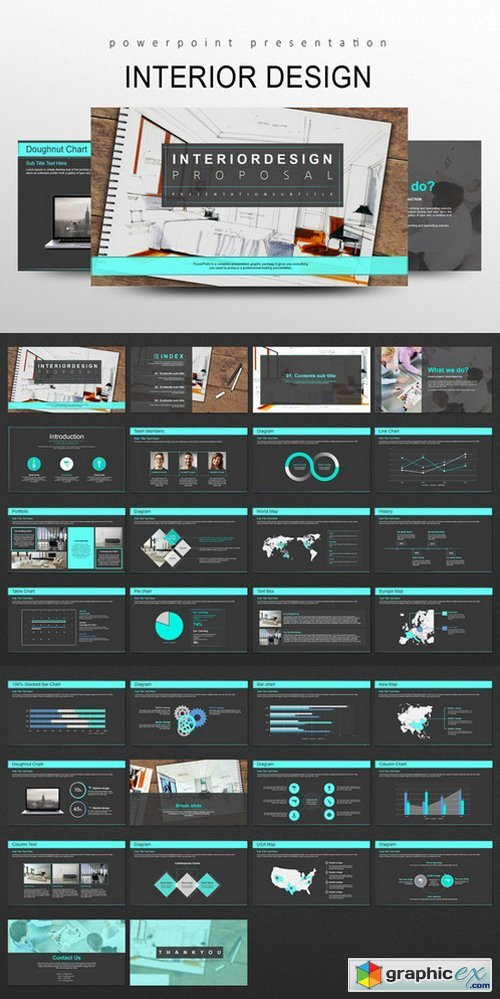 Interior design powerpoint templates free download vector stock interior design powerpoint templates toneelgroepblik