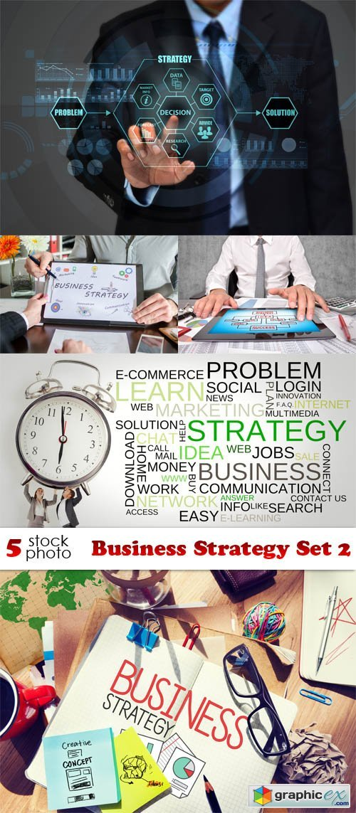 Photos - Business Strategy Set 2