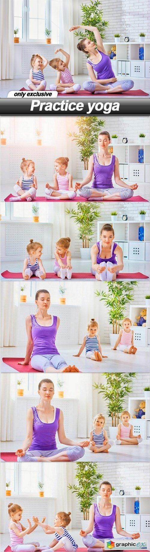 Practice yoga - 6 UHQ JPEG