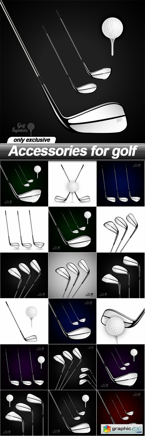 Accessories for golf - 18 EPS