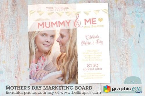 IM003 Mothers Day Marketing Board