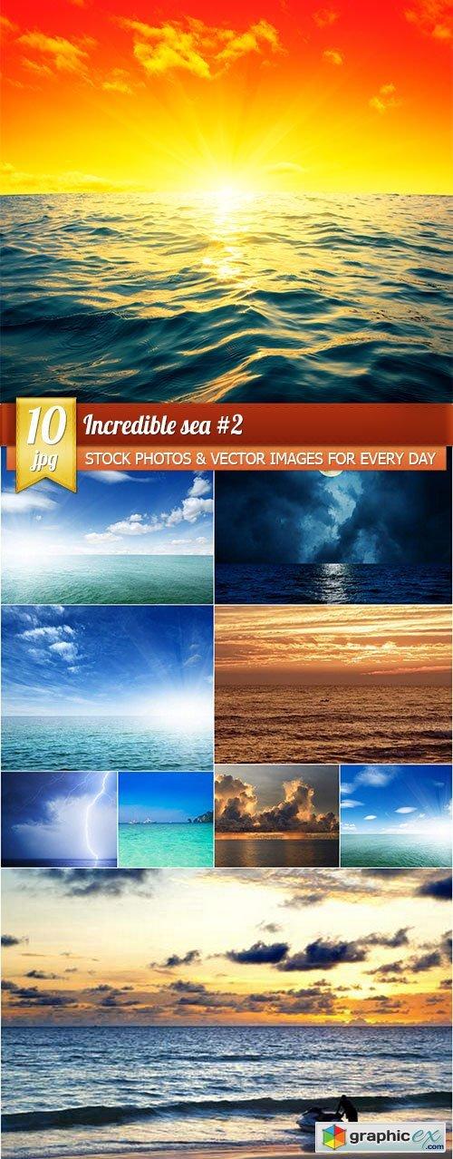 Incredible sea #2, 10 x UHQ JPEG