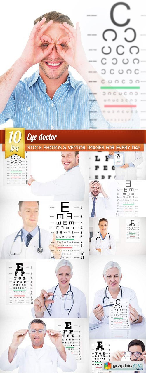 Eye doctor, 10 x UHQ JPEG