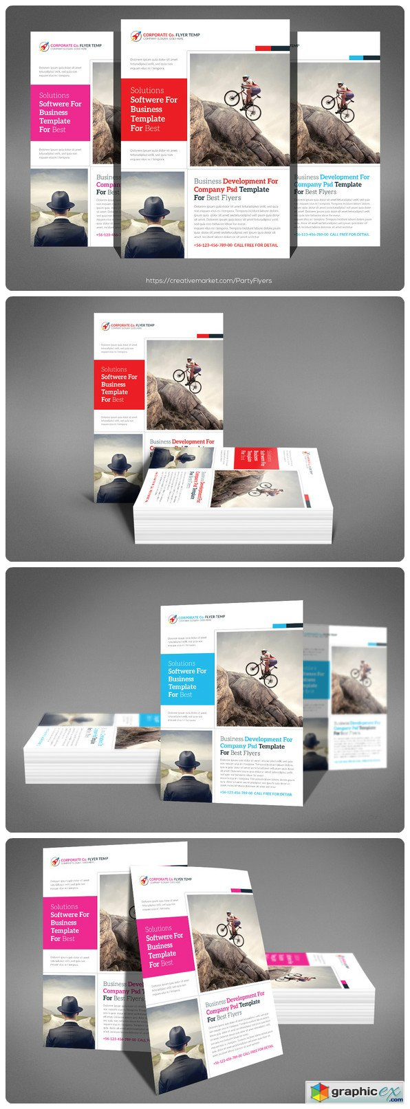 flyer and menu templates vector stock image small business consulting flyer 567248