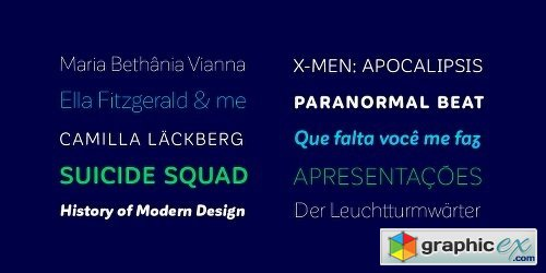 Corporative Sans Rounded Font Family 32 FONTS