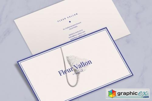 Business Card Beauty Fashion Style
