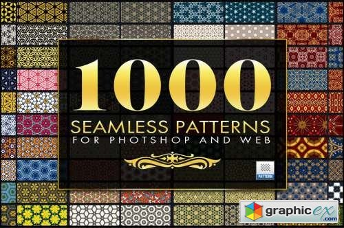 1000 Seamless Web Patterns - Bundle