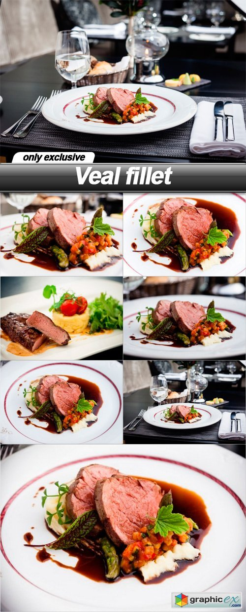 Veal fillet - 8 UHQ JPEG