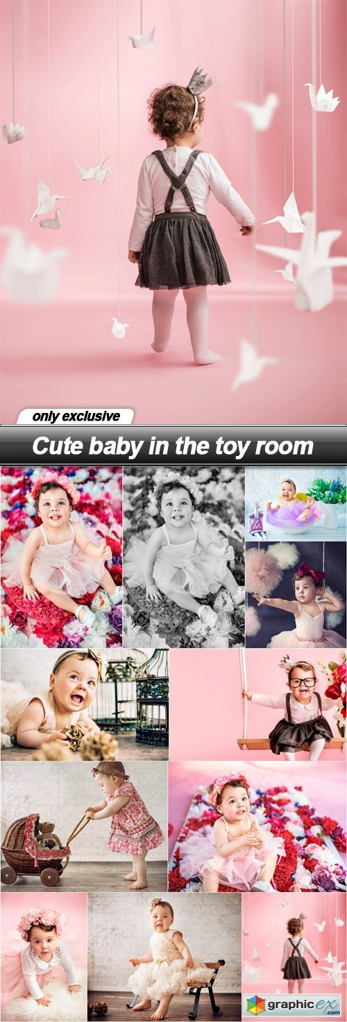 Cute baby in the toy room - 11 UHQ JPEG
