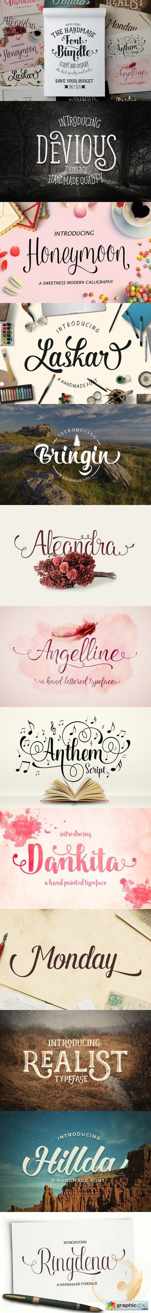 Font Bundle (Graptail)