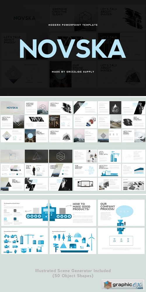 Novska modern powerpoint template free download vector stock novska modern powerpoint template toneelgroepblik Image collections