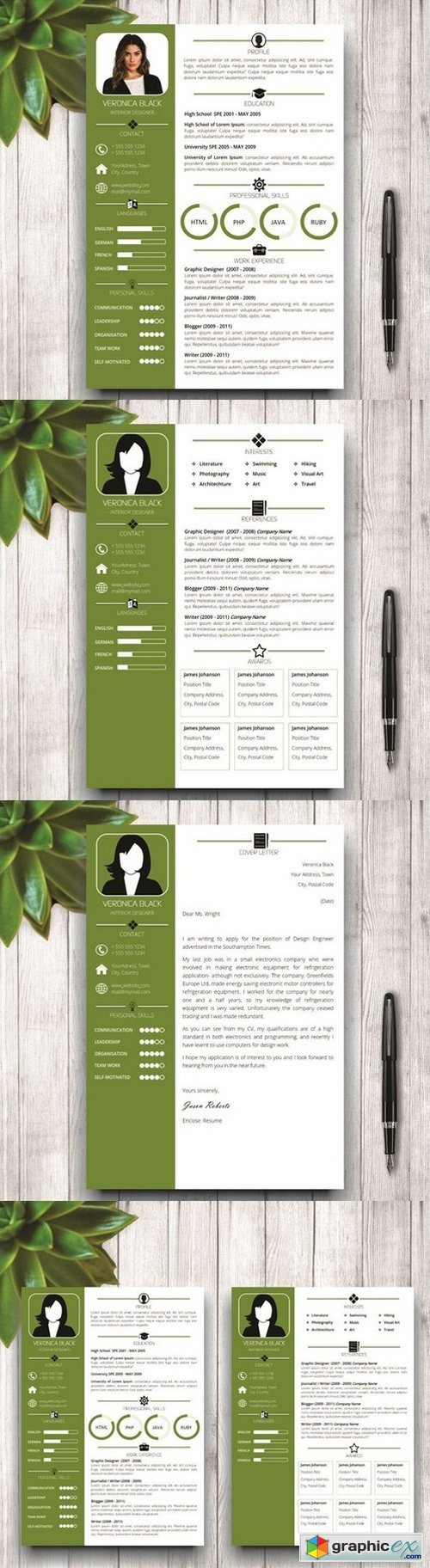 resume and cv  u00bb page 20  u00bb free download vector stock image