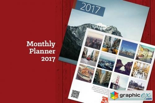 Monthly Planner 2017 (MP07)