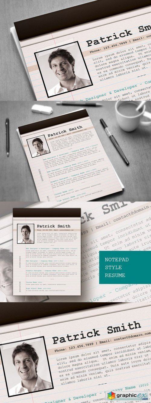 Html resume notepad