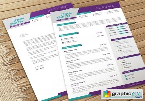 resume and cv page 7 free download vector stock image photoshop