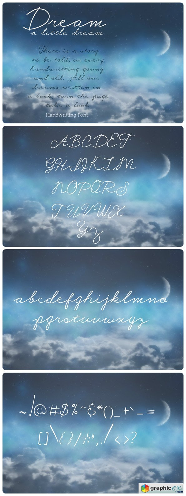 Dream A Little Dream - Font