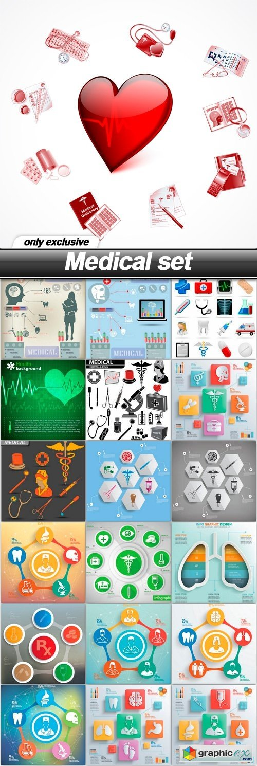 Medical set - 19 EPS