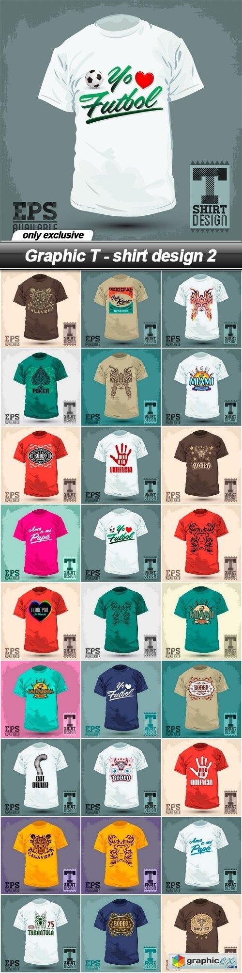 Shirt design eps - Graphic T Shirt Design 2 27 Eps