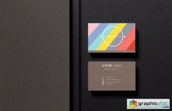 Businesscard Template Easy To Edit 623485