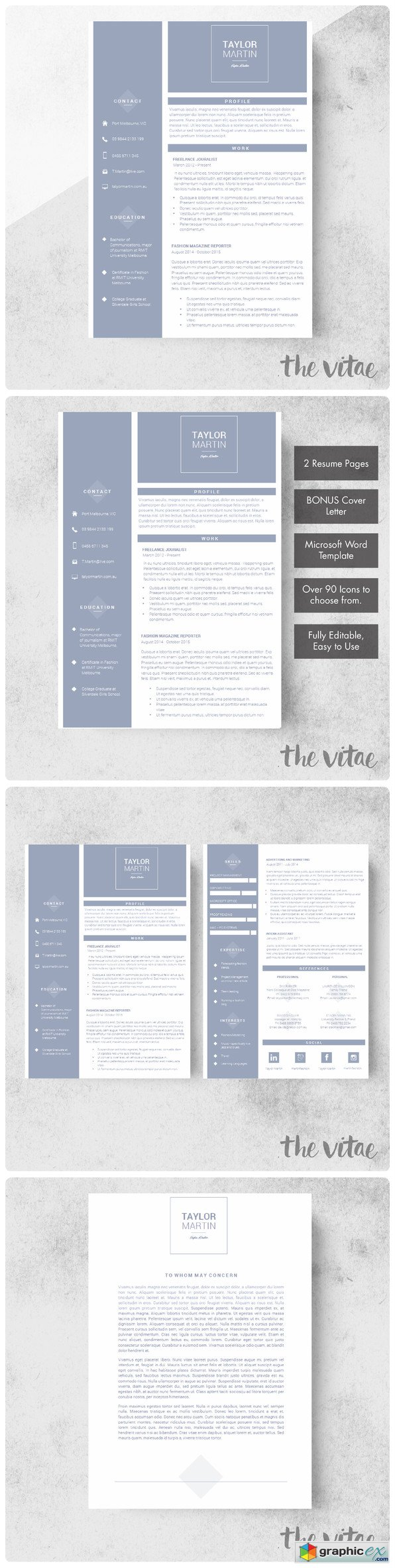 Sailor Resume Template Cover Letter