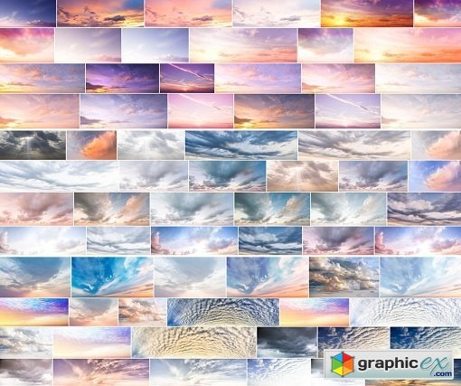Digital Sky Overlay - 164 Sky Overlays